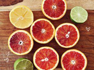 Trái cam ruột đỏ
