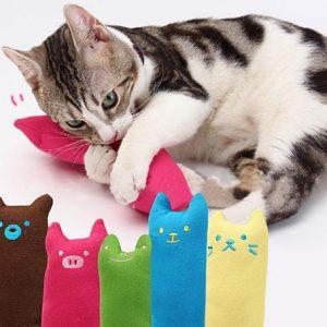 Bôi Catnip Vào đồ Chơi Cho Mèo