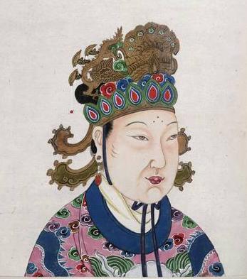 Tranh Vẽ Chân Dung Võ Tắc Thiên ( Tiếng Hán Wu Zetian )